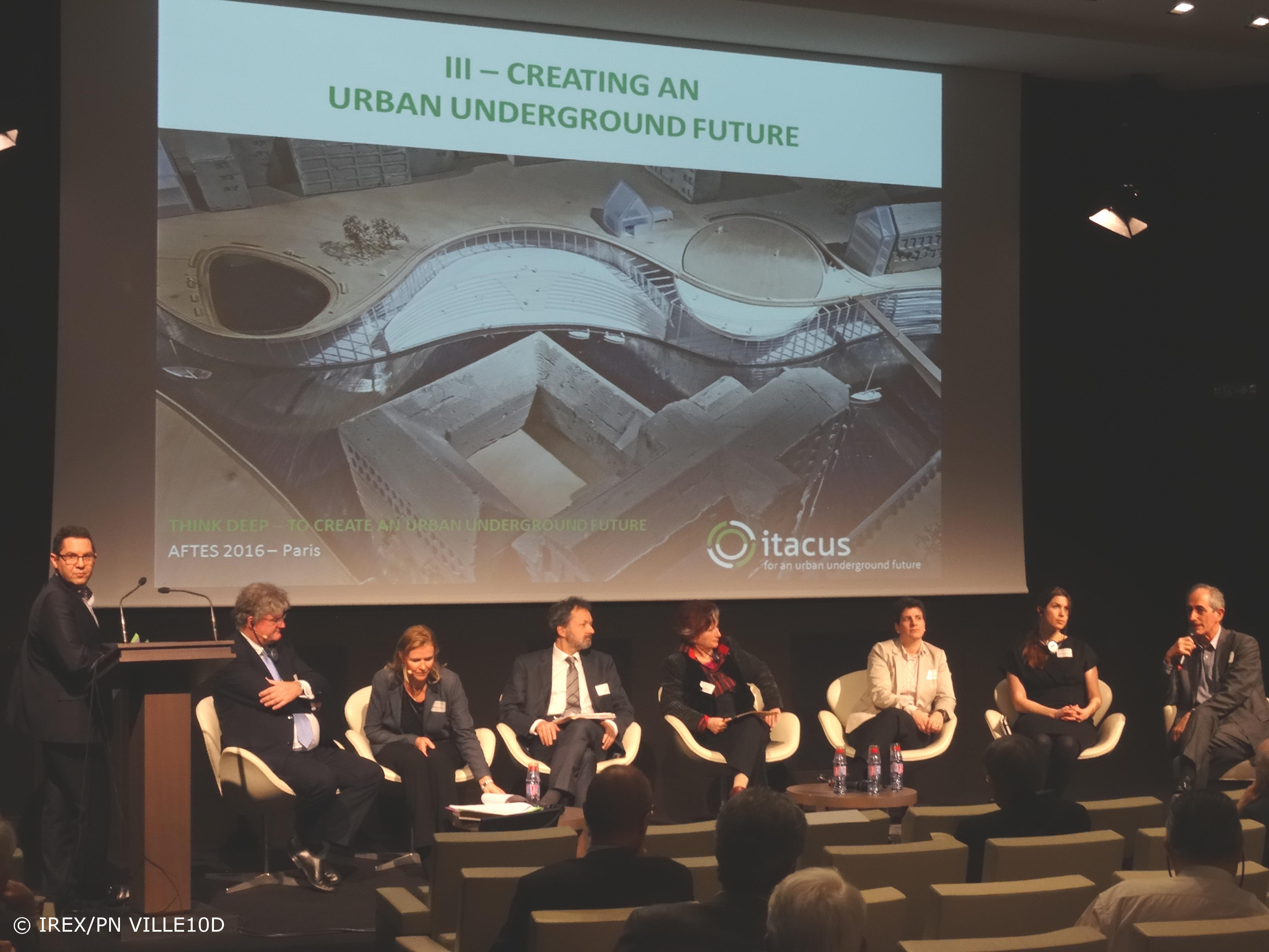 Journée d'échanges : Penser la ville avec son sous-sol - supports de présentation